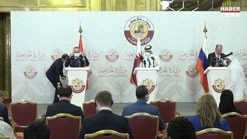 Türkiye-Rusya-Katar Üçlü Dışişleri Bakanları Toplantısı: Çavuşoğlu'ndan Suriye ve S-400 açıklaması!