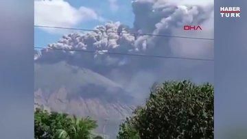 Nikaragua'daki San Cristobal yanardağı şehri küle boğdu
