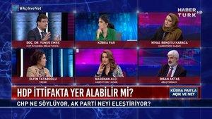 Açık ve Net - 11 Mart 2021 (HDP ittifak içinde yer alacak mı? CHP'nin tavrı ne?)