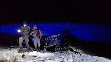 Bingöl'de feci kaza! Otobüsle çarpışan otomobil ikiye bölündü: 1 ölü, 2 yaralı