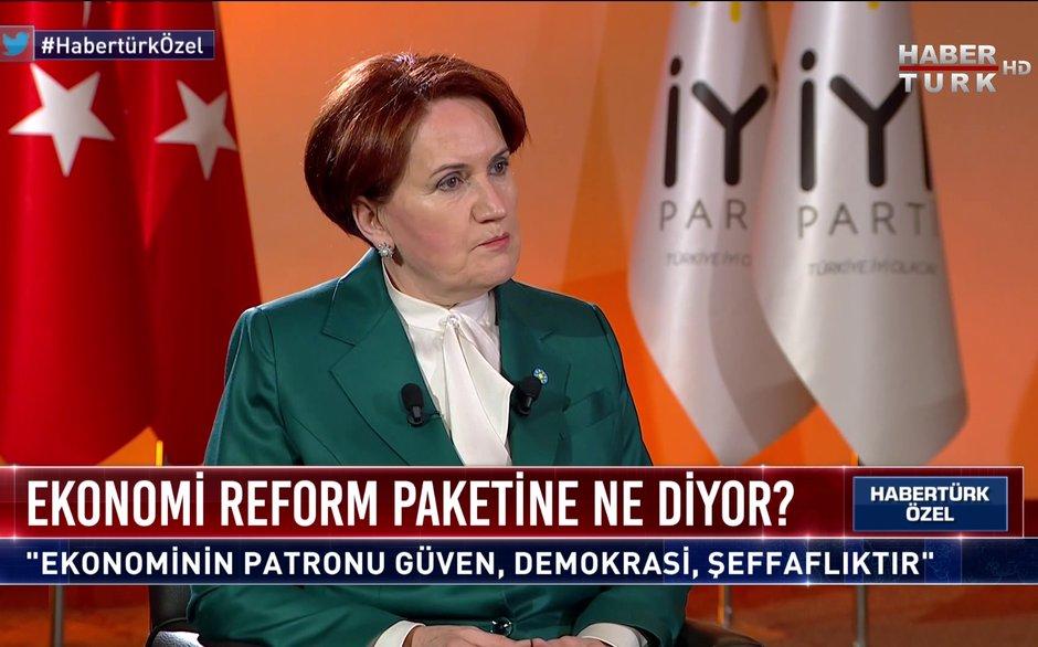Habertürk Özel - 12 Mart 2021 (İYİ Parti lideri Meral Akşener ekonomi reform paketine ne diyor?)