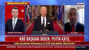 """Son dakika! ABD Başkanı Joe Biden: """"Putin katil!"""""""