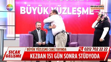 Kayıp Kezban ailesi ile buluştu!