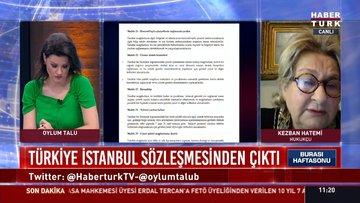 Hukukçu Kezban Hatemi, İstanbul Sözleşmesi'nin feshedilmesiyle ilgili açıklamada bulundu.