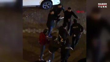 Esenyurt'ta iş yerini basmaya çalışan saldırganlar kamerada