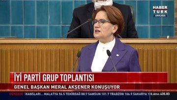 İYİ Parti lideri Akşener'den Merkez Bankası ve İstanbul Sözleşmesi eleştirisi