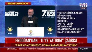 Cumhurbaşkanı Erdoğan'dan AK Parti Kongresi'nde kritik mesajlar