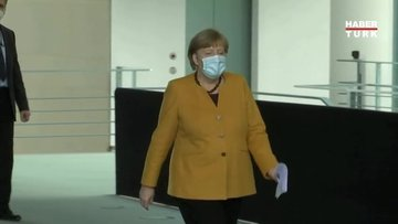 Almanya Başbakanı Angela Merkel'den acil koronavirüs toplantısı!