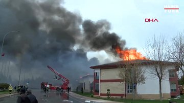 TPAO Batman Bölge Müdürlüğü'nde yangın