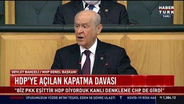 Bahçeli'den İstanbul Sözleşmesi, 'irtica' ve HDP mesajları