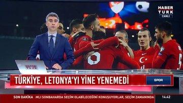 Türkiye Letonya'yı yine yenemedi   Spor Bülteni - 31 Mart 2021