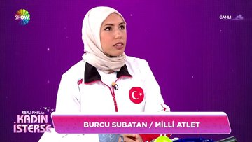 Milli Atlet Burcu Subatan'ın hikayesi!