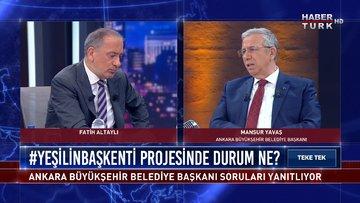 Mansur Yavaş Habertürk TV'de | Teke Tek - 1 Nisan 2021