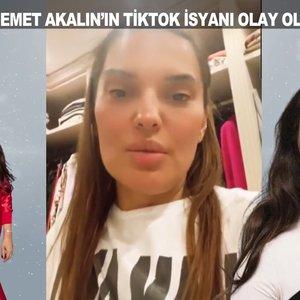 Demet Akalın'ın TikTok isyanı olay oldu!