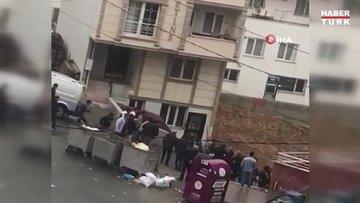 Arnavutköy'de çocukların kavgasına aileleri de karıştı, ortalık savaş alanına döndü