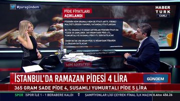 İstanbul'da ramazan pidesi 4 lira