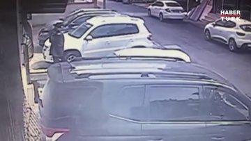 Kartal'da 4 kişiyi öldüren zanlı güvenlik kamerasında
