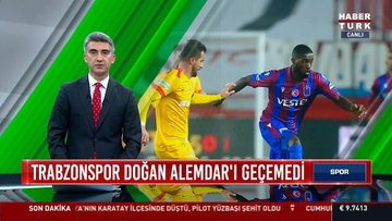 Trabzonspor Doğan Alemdar'ı geçemedi | Spor Bülteni - 7 Nisan 2021