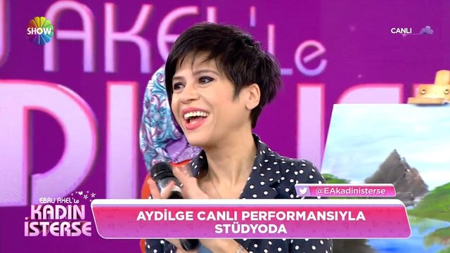 Aydilge'den canlı 'Kadın İsterse' performansı!