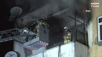Pendik'te açık unutulan elektrikli ısıtıcı evi yaktı