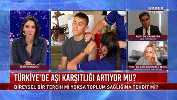 Türkiye'de aşı zorunluluğu var mı?   HT 360 - 9 Nisan 2021