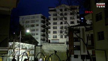 Ankara'da, temeli kayan apartman nedeniyle 21 bina tahliye edildi