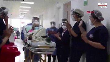 Kolombiya'da 104 yaşındaki kadın Covid-19'a karşı ikinci kez galip geldi