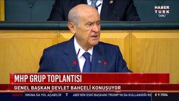 MHP lideri Bahçeli: Kılıçdaroğlu aday olsun