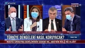 Teke Tek - 12 Nisan 2021 (Türkiye dengeleri nasıl koruyacak?)
