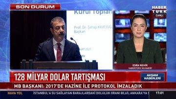Merkez Bankası Başkanı Kavcıoğlu'ndan 128 milyar dolar açıklaması