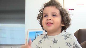 3 yaşındaki Ata Kemal, Dünya Ses Günü'nde sesine kavuştu
