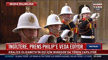 Prens Philip son yolculuğuna uğurlanıyor