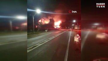Şili'de bir kilise yakıldı