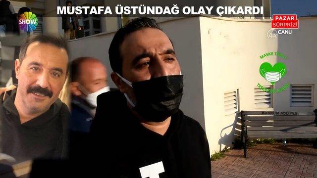 Mustafa Üstündağ Bodrum'da kavgaya karıştı!
