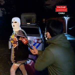 Villada 'kar maskeli' korona partisi!