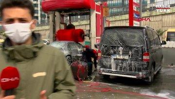Gökten çamur yağdı, otomobilini gören şaşkına döndü!