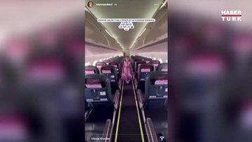 Şeyma Subaşı: Tüm uçağı bizim için kapattı
