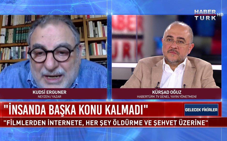 Gelecek Fikirler - 18 Nisan 2021 (Neyzen ve Yazar Kudsi Erguner Habertürk TV'de)
