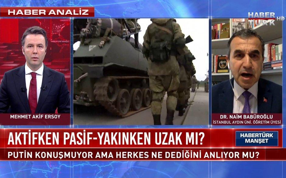 Habertürk Manşet - 19 Nisan 2021 (Çekya üzerinden Rusya kuşatması mı?)