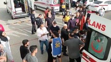 Asansör 11'inci kattan yere çakıldı; Baba oğlunu kucağına alarak kurtardı