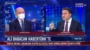 """Teke Tek - 19 Nisan 2021 (""""Kanal İstanbul ile büyük riske giriliyor"""")"""