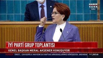 İYİ Parti lideri Akşener'den 128 milyar dolar eleştirisi