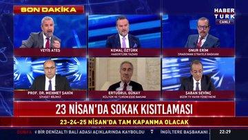"""İçişleri Bakanlığı """"23 Nisan Sokağa Çıkma Kısıtlaması"""" konulu genelge gönderdi"""