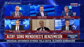 CHP'li Engin Altay'ın sözlerinde Erdoğan'a tehdit var mı? | Türkiye'nin Nabzı - 21 Nisan 2021