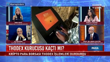 Thodex'in kurucusu Faruk Fatih Özer nerede? | Para Gündem -22 Nisan 2021