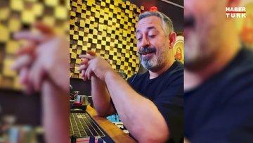 Müzisyen Alp Ersönmez'in başlattığı '23 Nisan Marşı Çal' challange'ına Cem Yılmaz da katıldı