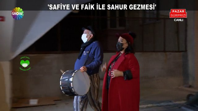 Safiye Soyman ve Faik Öztürk Ramazan davulcusu oldu!