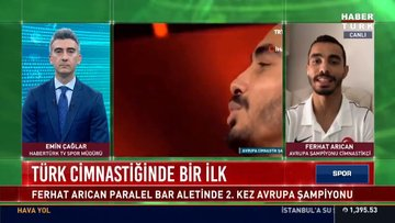 Türk cimnastiğinde bir ilk | Spor Bülteni - 27 Nisan 2021