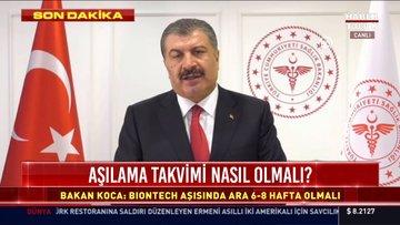Bakan Koca: İstanbul'da Hindistan mutasyonu görüldü