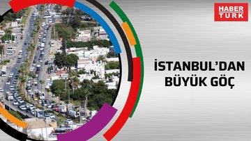 İstanbul'dan büyük göç'